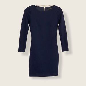 Navy blue quilted Dynamite dress